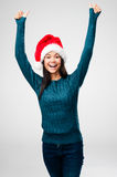 Cheerful christmas Royalty Free Stock Photo