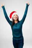 Cheerful christmas Stock Image