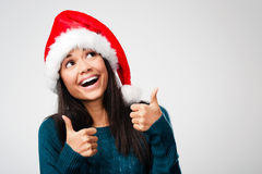 Cheerful christmas Stock Photography