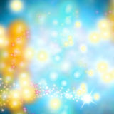 Cheerful Christmas abstract background Stock Image
