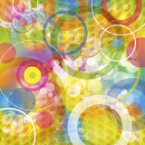 Cheerful circles Stock Image