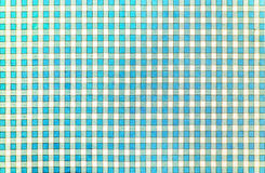 Cheerful classic rustic traditional gingham pattern in light blue and white Stock Photo