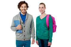 Cheerful classmates posing together Stock Photography