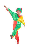 Cheerful clown Stock Photo