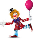 Cheerful clown Stock Photo