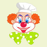 Cheerful clown Royalty Free Stock Image