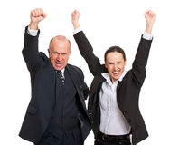 Cheerful colleagues Stock Photography