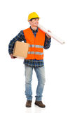 Cheerful Construction Worker. Stock Images