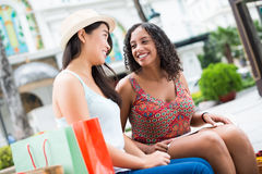 Cheerful conversation Royalty Free Stock Photo