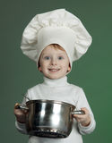 The cheerful cook Royalty Free Stock Image