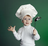 The cheerful cook Stock Photography