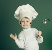 The cheerful cook Royalty Free Stock Photography