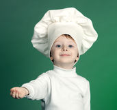 The cheerful cook Royalty Free Stock Images
