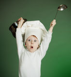 The cheerful cook Stock Photo
