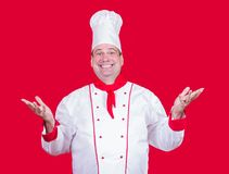 Cheerful cook Royalty Free Stock Photography
