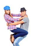 Cheerful couple Stock Image