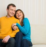 Cheerful couple Stock Photo
