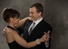 Cheerful couple Royalty Free Stock Photos
