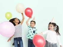 Cheerful Cute Kid Having Fun Concept Royalty Free Stock Photography