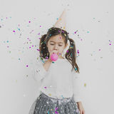 Cheerful Cute Kid Having Fun Concept Royalty Free Stock Images