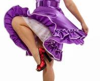 Cheerful dance Royalty Free Stock Photos