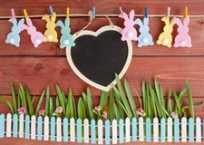 Cheerful decoration for easter Stock Photo