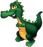 Cheerful Dino Royalty Free Stock Photos