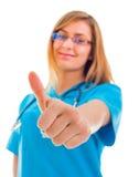 Cheerful doctor Stock Image