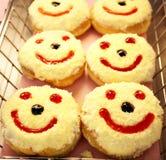 Cheerful donut Royalty Free Stock Photo