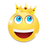Cheerful smiley Royalty Free Stock Photos