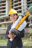 Cheerful engineer Stock Photo