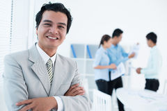 Cheerful executive Royalty Free Stock Photography