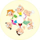 Cheerful family Stock Photo
