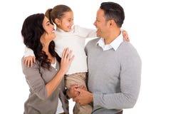 Cheerful family Royalty Free Stock Photo