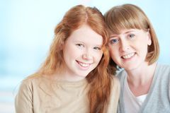 Cheerful females Royalty Free Stock Photography