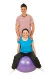 Cheerful fitness couple Stock Photo