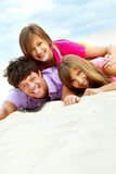 Cheerful friends Royalty Free Stock Images