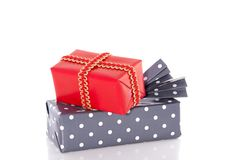 Cheerful gifts Stock Image