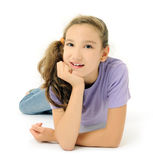 Cheerful girl Royalty Free Stock Images