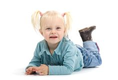 cheerful girl Στοκ φωτογραφίες με δικαίωμα ελεύθερης χρήσης