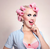 Cheerful girl Royalty Free Stock Photography