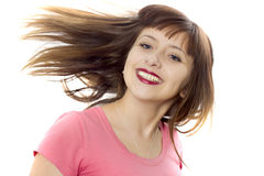 The cheerful girl Royalty Free Stock Photos
