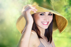 Cheerful girl Stock Image
