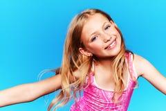 Cheerful girl royalty free stock photo