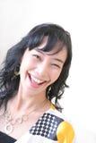 cheerful girl Στοκ εικόνα με δικαίωμα ελεύθερης χρήσης