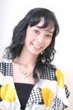 Cheerful girl Royalty Free Stock Image