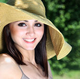 Cheerful girl Stock Photos