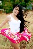 Cheerful girl Stock Photography