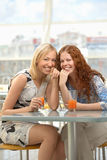 Cheerful girls Royalty Free Stock Image