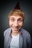 Cheerful guy stock image